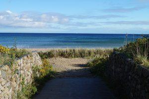 Durchgang zum Strand